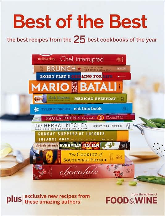 Picture of Cookbooks: Best of the Best Vol. 9: The Best Recipes from the 25 Best Cookbooks of the Year