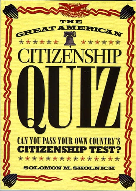 Picture of Gift Book: The Great American Citizenship Quiz