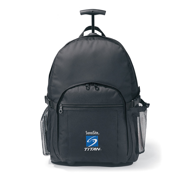Picture of Wheeled Computer Backpack, Promotional Logo Wheeled Computer Backpack