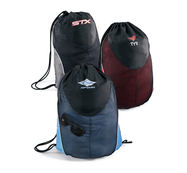 Picture of Mesh Sport Cinchpack, Promotional Logo Mesh Sport Cinchpack