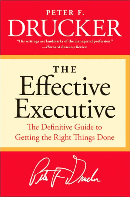 Picture of Business Bestsellers: The Effective Executive