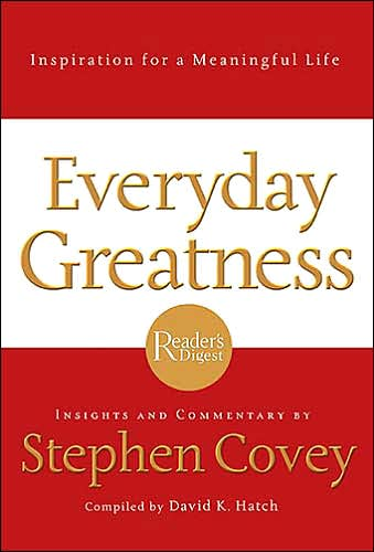 Picture of Gift Book: Everyday Greatness: Inspiration for a Meaningful Life