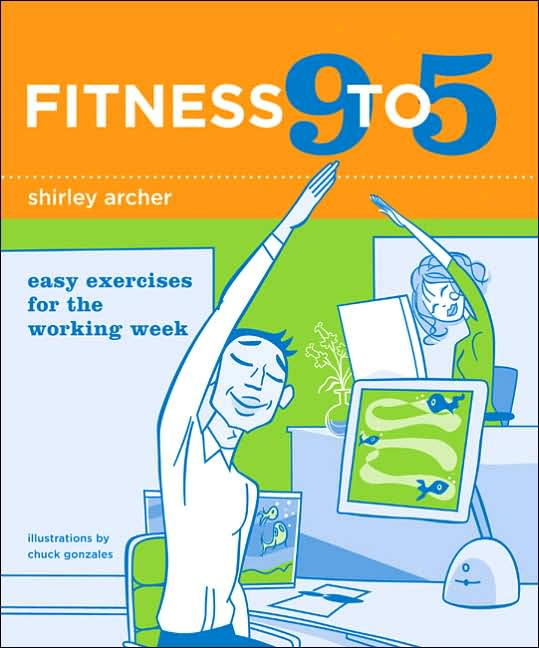 Picture of Gift Book: Fitness: Fitness 9 to 5: Easy Exercises for the Working Week