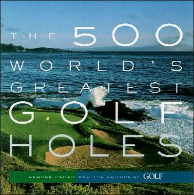 Picture of Golf Book: The 500 World's Greatest Golf Holes, Promotional Logo Golf Book