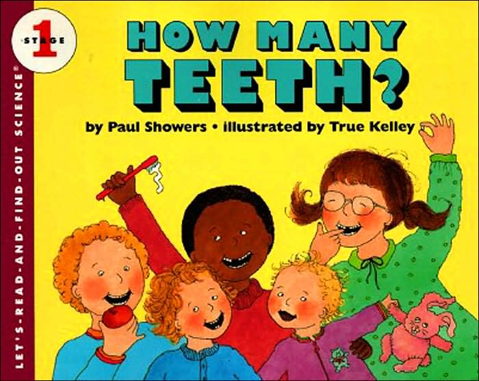 Picture of Gift Book: Children: How Many Teeth?