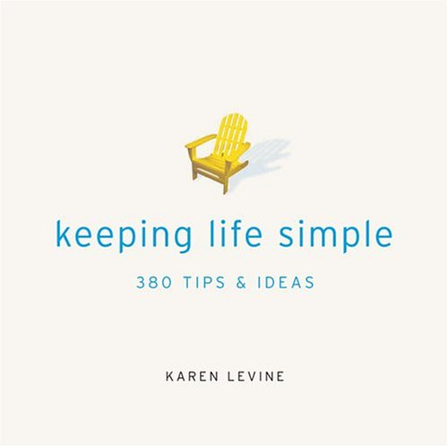 Picture of Gift Book: Keeping Life Simple: 380 Tips and Ideas