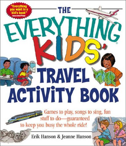 Picture of Books: The Everything Kids: Travel Activity Book, Promotional Logo Kids Travel Activities Book