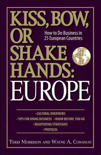 Picture of Business Bestsellers: Kiss, Bow, or Shake Hands: Europe