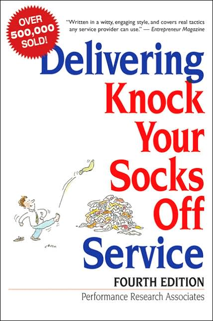 Picture of Business Bestsellers: Delivering Knock Your Socks Off Service