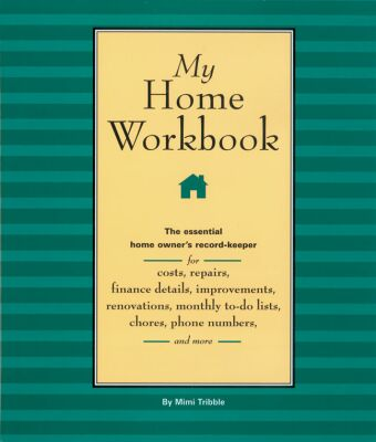 Picture of Gift Book: My Home Workbook: The Essential Home Owner's Record-Keeper, Promo Logo Gift Books