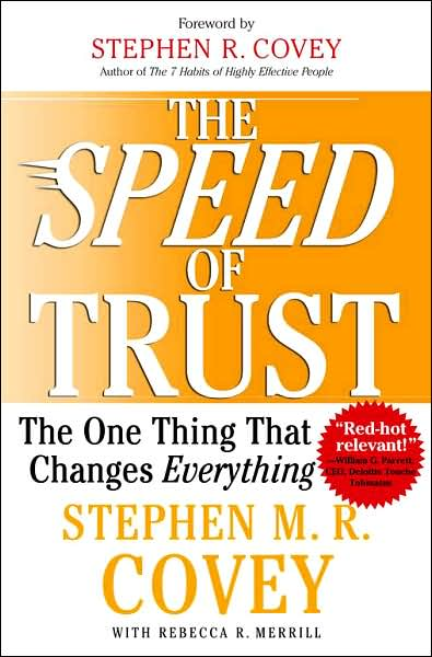 Picture of Business Bestsellers: The Speed of Trust: The One Thing that Changes Everything