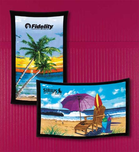 Picture of Stock Design Tote Towels™, Promotional Logo Stock Design Tote Towels.