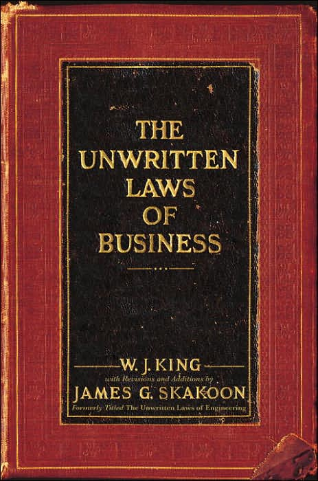 Picture of Business Bestsellers: Unwritten Laws of Business