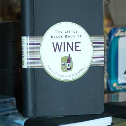 Picture of Wine: The Little Black Book of Wine, Promotional Logo Gift Books